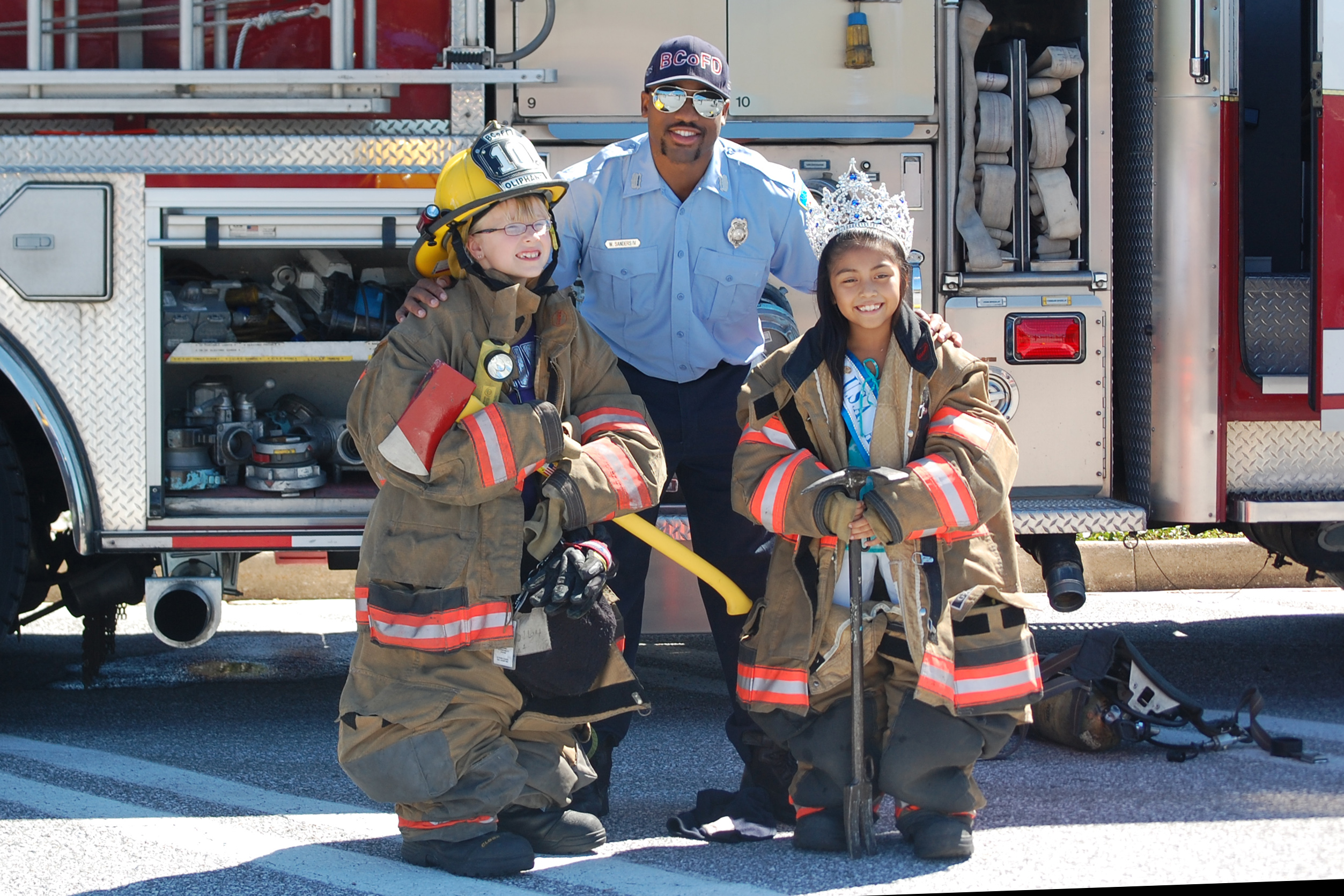 Photo taken at Public Safety Day in 2014.