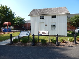 Interpretive signs tell the Jacob House story