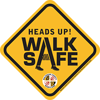 Walk Safe logo
