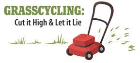 There are many benefits to grasscycling!