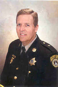 Image of Baltimore County Sheriff, R. Jay Fisher.