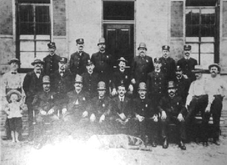 One of the first police forces in history.
