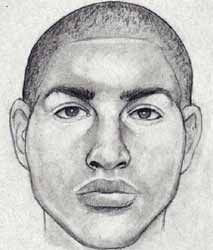 Composite sketch of man responsible for an assault and attempted kidnapping in Precinct 2/Woodlawn.