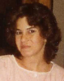Picture of Teresa Ann Schmansky, found murdered in her home on Holabird Avenue in 1989.