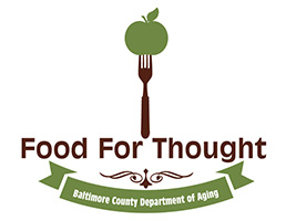 Food for Thought program logo.