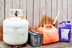 An image of household hazardous waste.