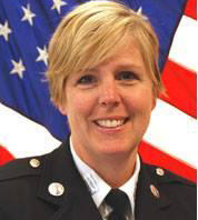 Photo of Lt. Angela Hughes, appointed president of i-Women organization.