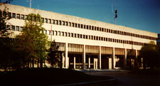 Photograph of the Circuit Courts Building.