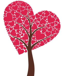 image of tree with heart