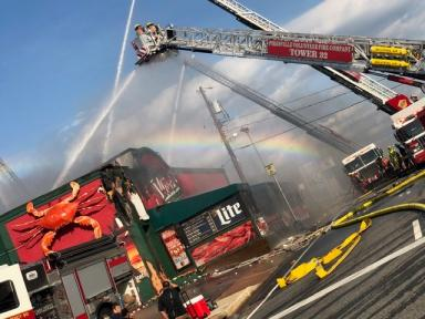 3-Alarm Fire at Loafers Sports Bar & Grill Under Investigation