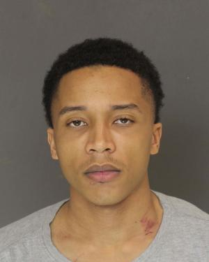 Booking photo of Jeremy Kalan Hill, stabbing defendant