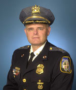 Image of Chief Johnson from the Baltimore County Police Department.