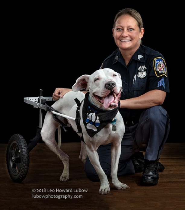 Show Your Soft Side Features BCoPD Sergeant DeFelice in 2019 Calendar
