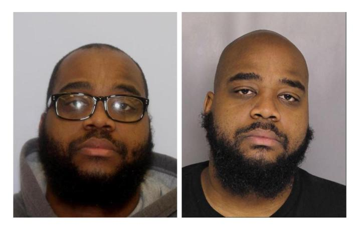 Photos of Brandon Saunders, charged in Baltimore County and Baltimore City rape cases.
